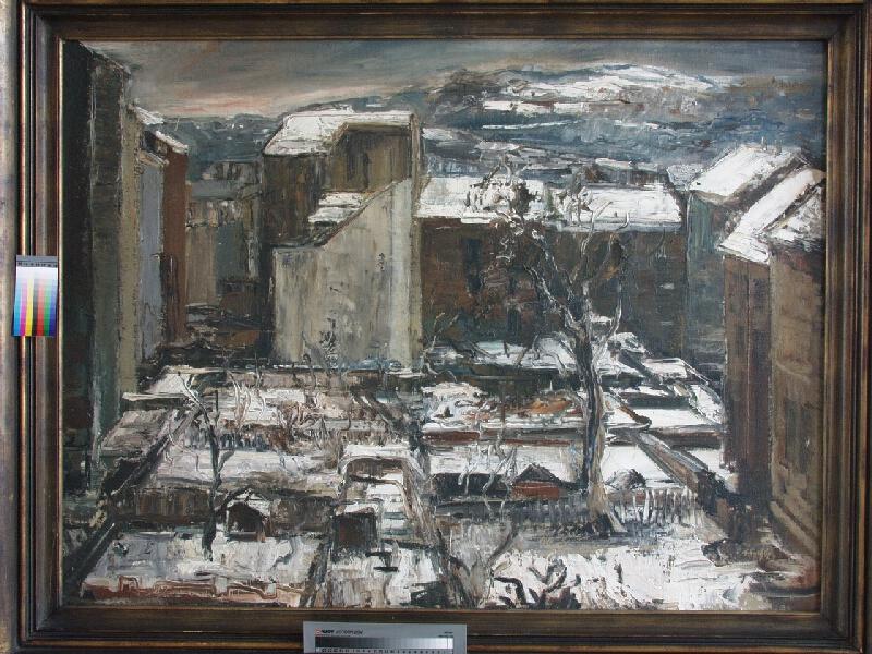 Max Kopf - Dvory ve sněhu