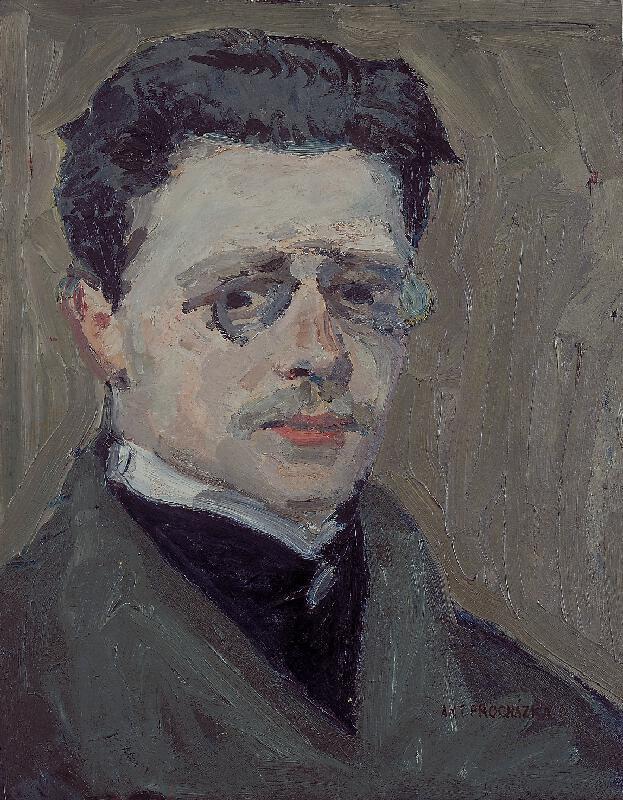 Antonín Procházka - Vlastní portrét