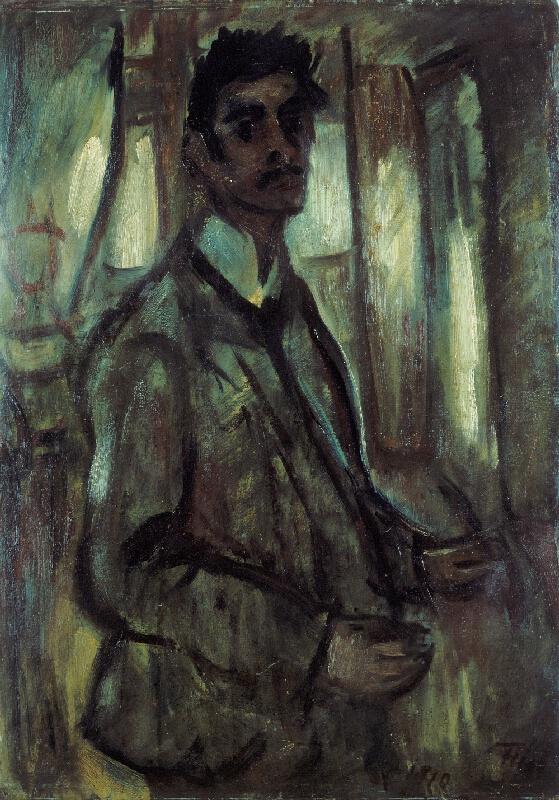 Bedřich (Friedrich) Feigl - Vlastní podobizna