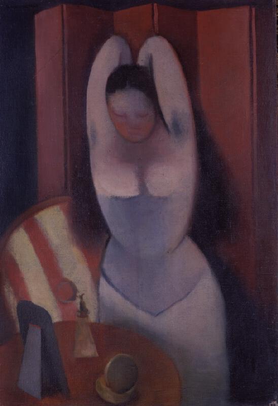 Rudolf Kremlička - Česající se žena