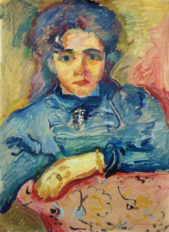 Antonín Procházka - Dívčí podobizna