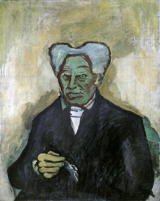 Bohumil Kubišta - Portrét Schoppenhauerův