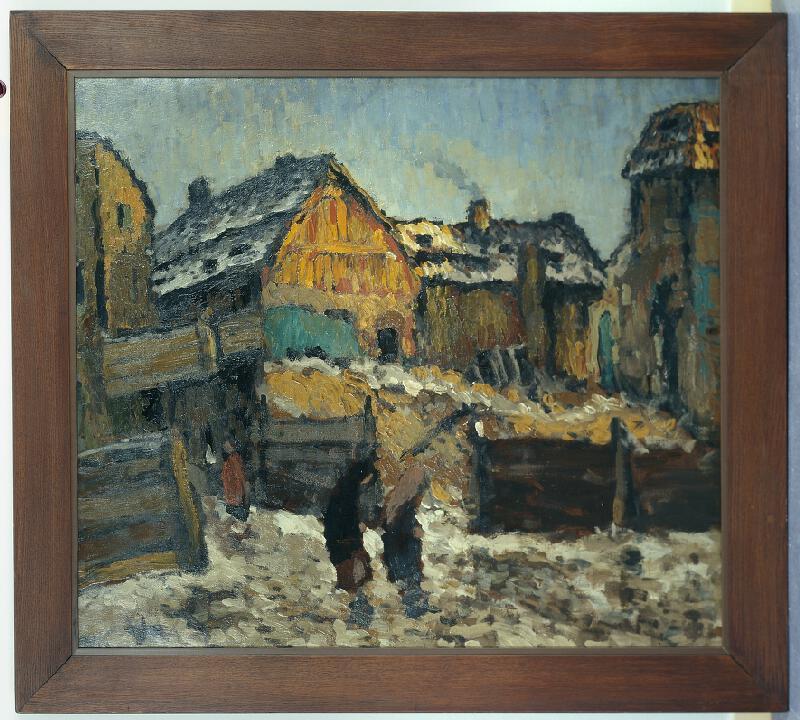 Karel Boháček - Praha, cikánská ulice