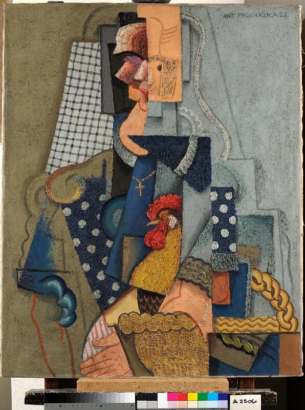 Antonín Procházka - Selka na trhu