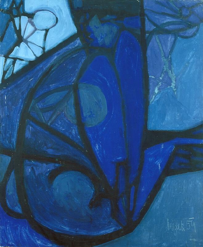 Ladislav Dydek - Modrý akt