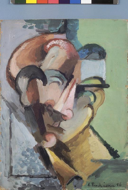 Antonín Procházka - Hlava dívky