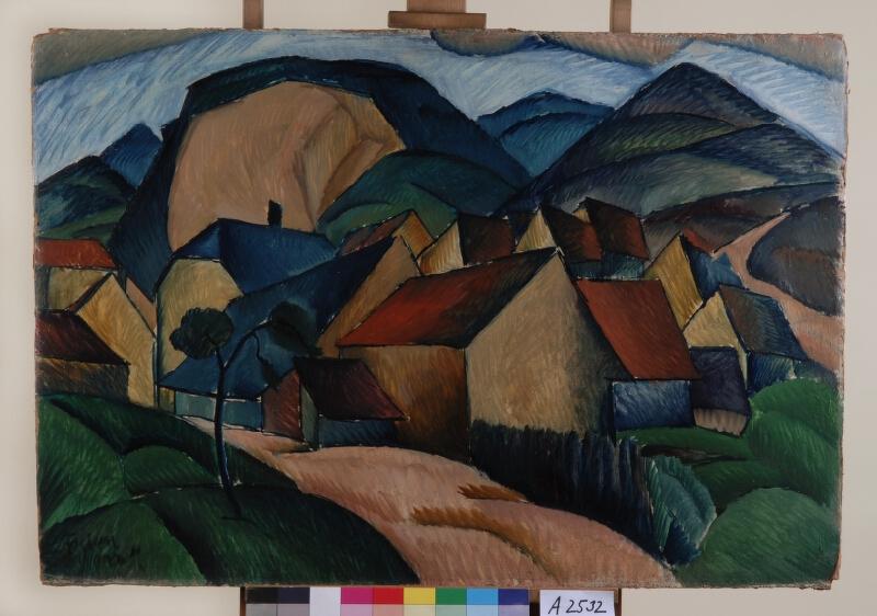 František Foltýn - Horská vesnice