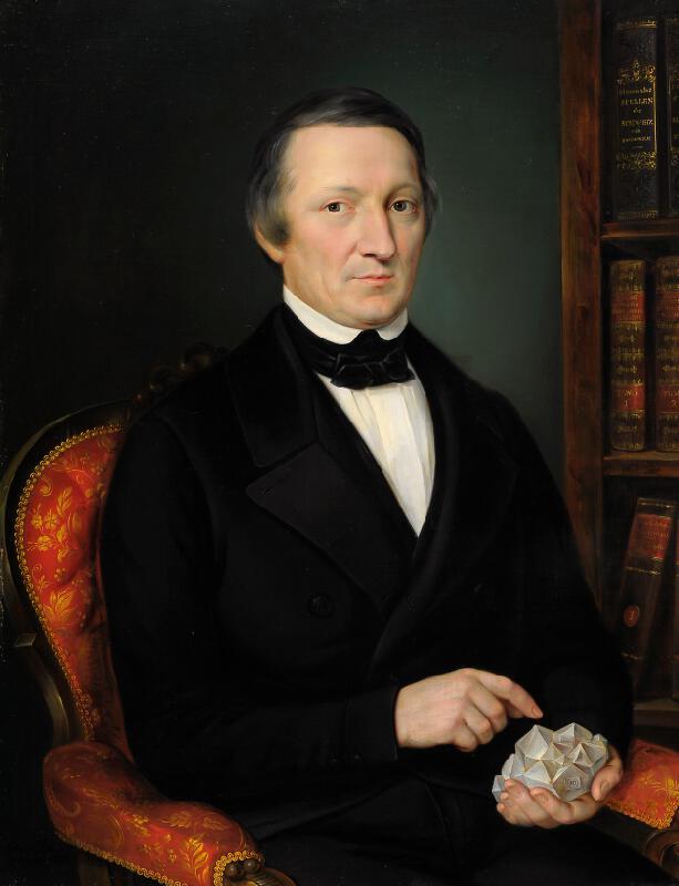 Jan Ondřej Gebhardt - Portrét profesora Albína Heinricha