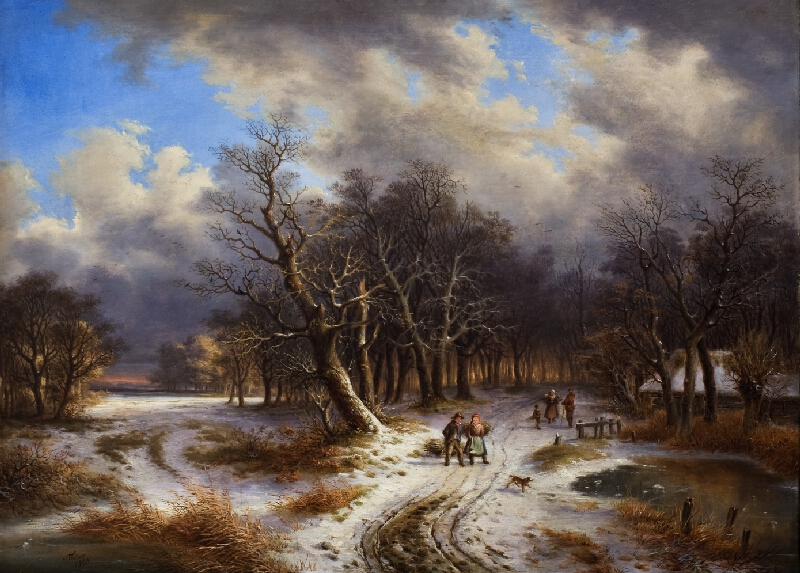 Šimon Tadeáš Milián - Zimní krajina