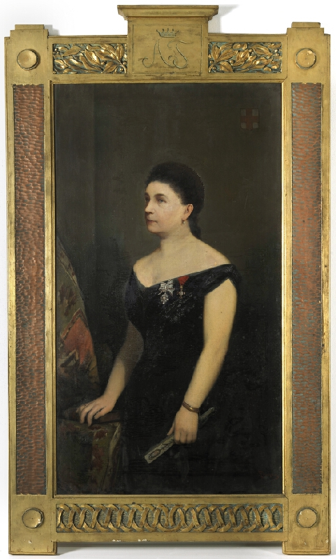 Emil Pirchan - Portrét paní Adély z Teuberů