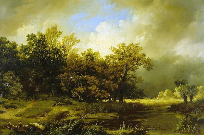 Remigius Adrianus van Haanen - Krajina v bouři