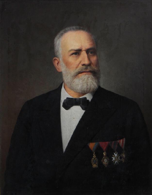 Josef Ladislav Šichan - Podobizna archiváře Brandla