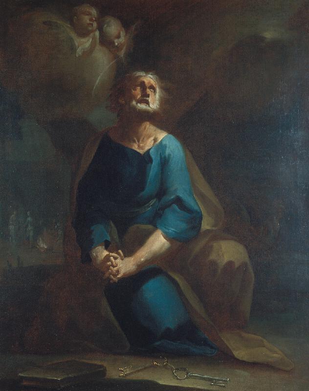 Josef Ignác Sadler (Sattler) - Sv. Petr
