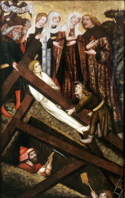 Mistr Rajhradského oltáře - Nalezení a zkoušení sv. Kříže