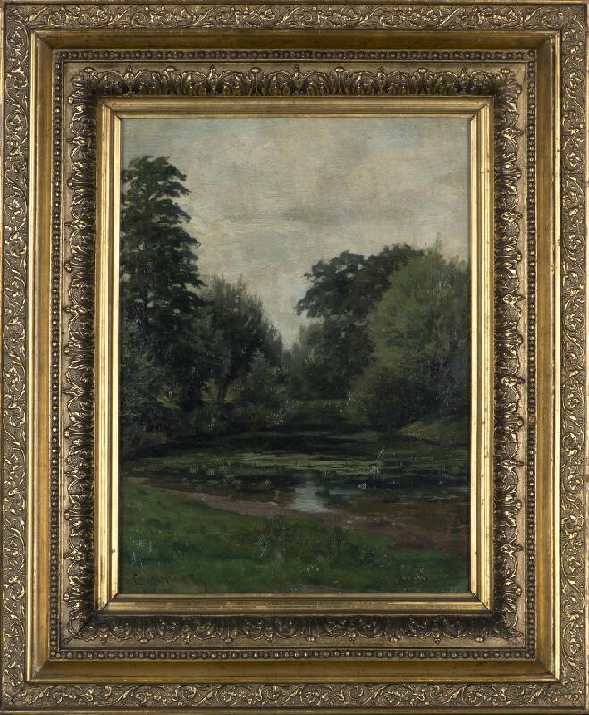 Ferdinand Engelmüller - Tůň u Obory