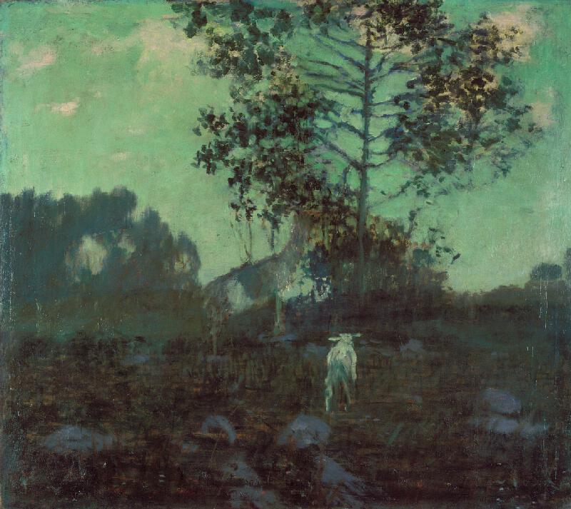 Antonín Hudeček - Na pastvě
