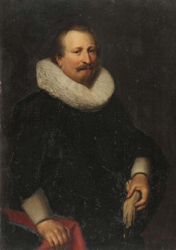 neznámý malíř nizozemský - Podobizna  muže