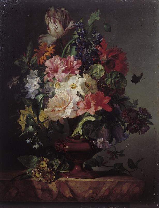 Josef Schuster - Květinové zátiší