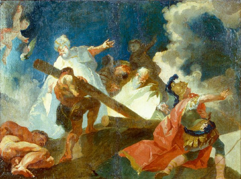 Franz Anton Maulbertsch - Nalezení sv. Kříže