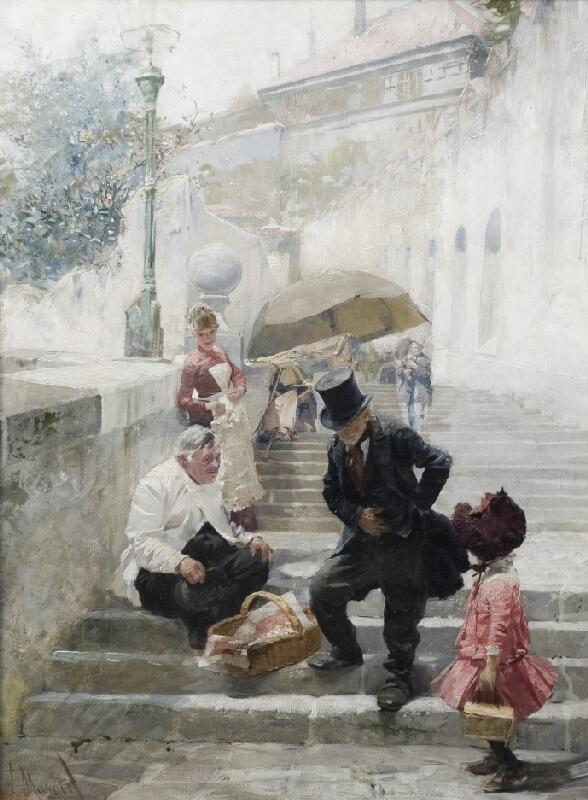 Luděk Marold - Na Nových zámeckých schodech