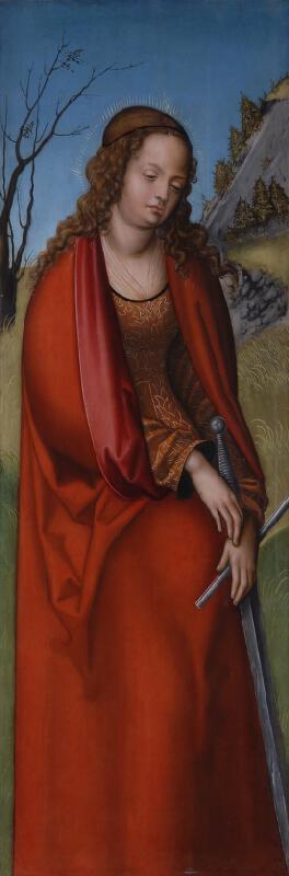 Lucas Cranach - dílna - Sv. Kateřina