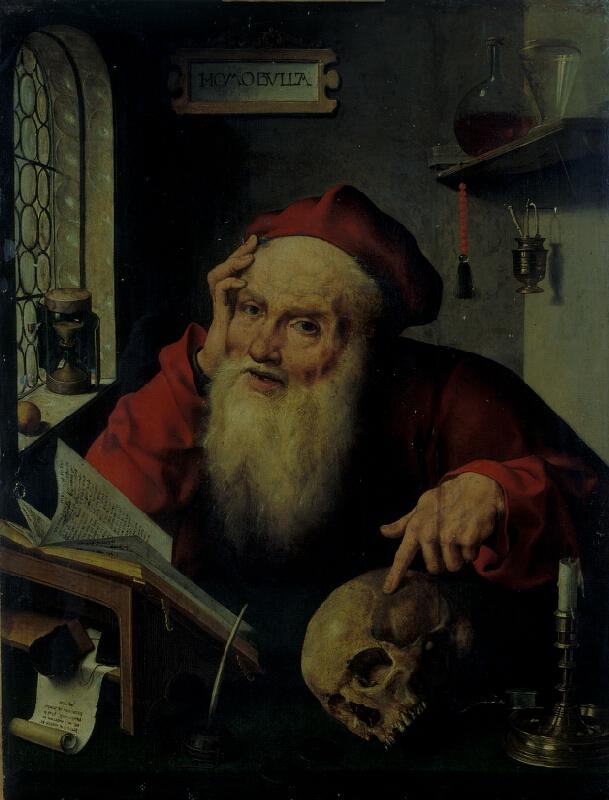 Joos van Cleve - dílna - Sv. Jeroným