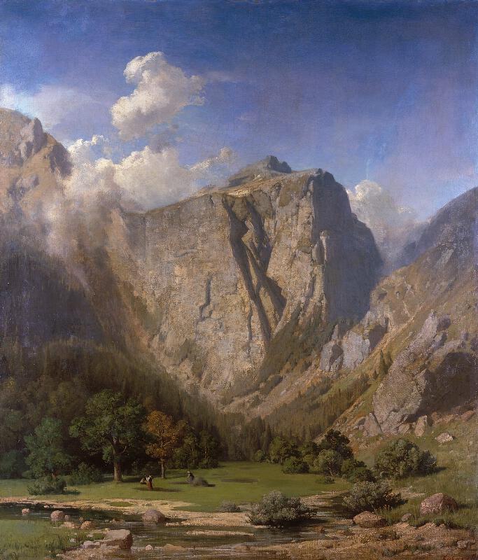 Adolf Kosárek - Alpská krajina