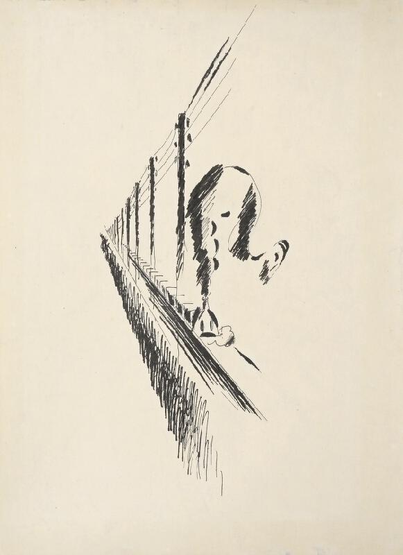 Vlastislav Hofman - Ilustrace k S. K. Neumannovi Zpěvy drátů