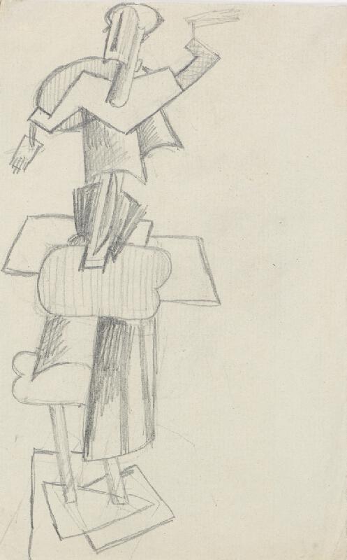 Otto Gutfreund - Ženská postava