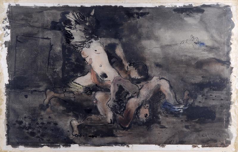 František Kaláb - Zápas o Helenu