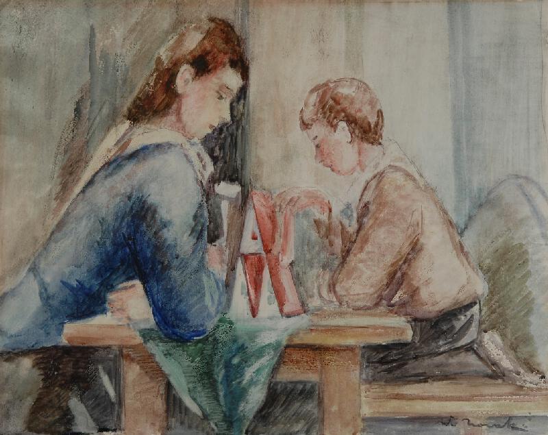 Vilém (Willi) Nowak - Domek z karet
