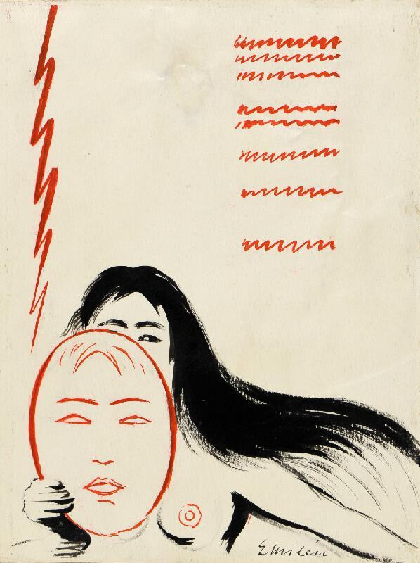 Eduard Milén - Návrh na plakát
