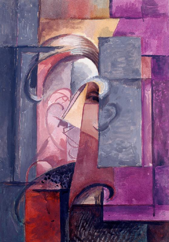 Antonín Procházka - Studie hlavy