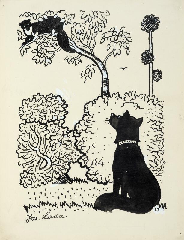 Josef Lada - Pes pod stromem