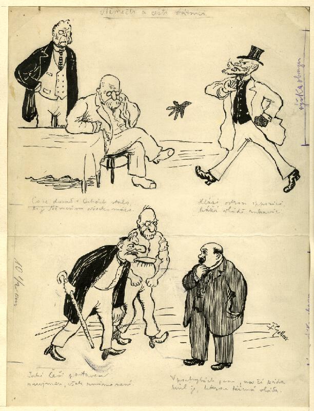 František Gellner - Němečtí a čeští státníci
