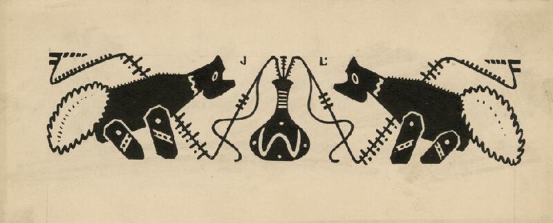 Josef Lada - Ilustrace ke Klíčení