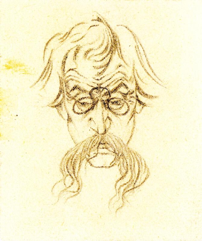 Karel Hlaváček - Malý autoportrét
