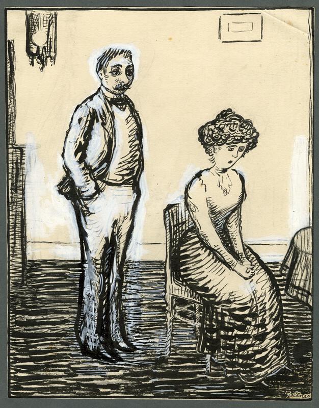 František Gellner - Manželé