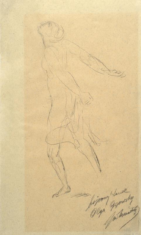 Josef Mařatka - Olga Gzovská, studie bojového tance