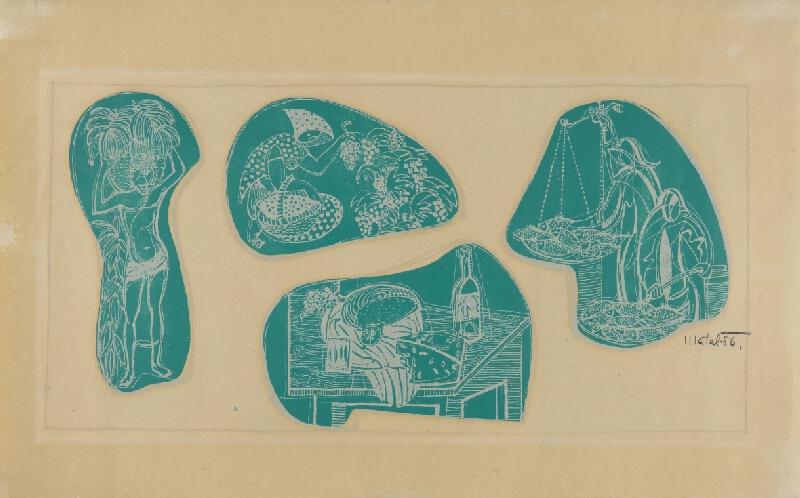 Bohumír Matal - Návrhy na freskovou výzdobu