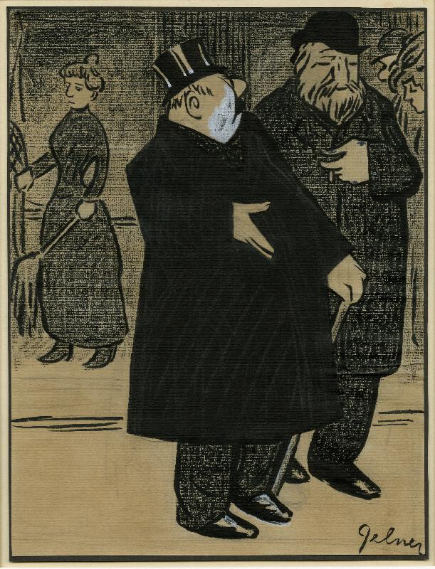 František Gellner - Karikatura I.