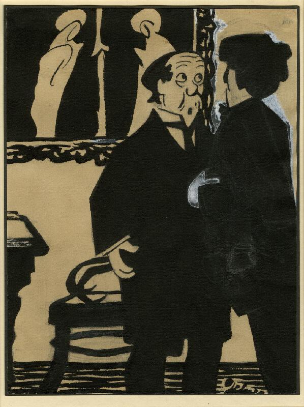 František Gellner - Karikatura III.