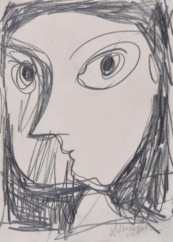 Oscar Dominguez - Hlava ženy
