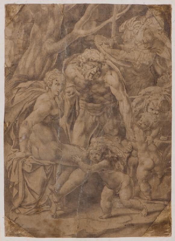 škola Fontainebleau (?) - Herkules a Venuše (?)