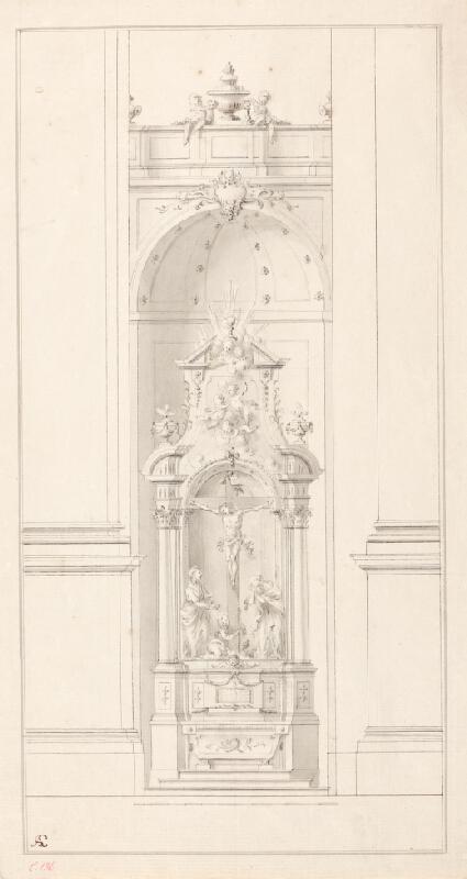 Ondřej (Andreas) Schweigl - Oltář s ukřižovaným