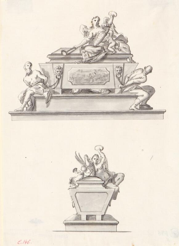 Ondřej (Andreas) Schweigl - Návrh na náhrobek