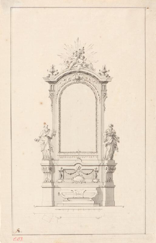 Ondřej (Andreas) Schweigl - Návrh na oltář