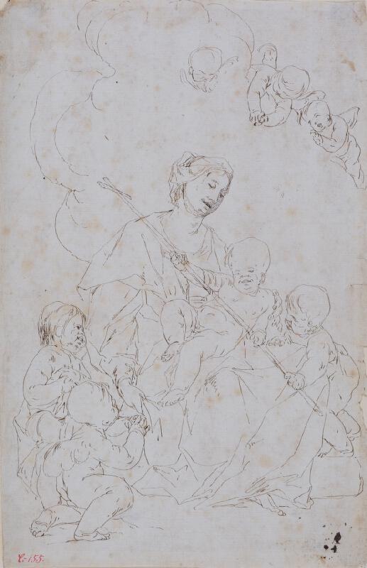 Paul Troger - Madona s Ježíškem a sv. Janem