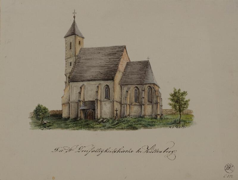 Mořic (Mauritz) Vilém Trapp - Ze židovského hřbitova v Praze