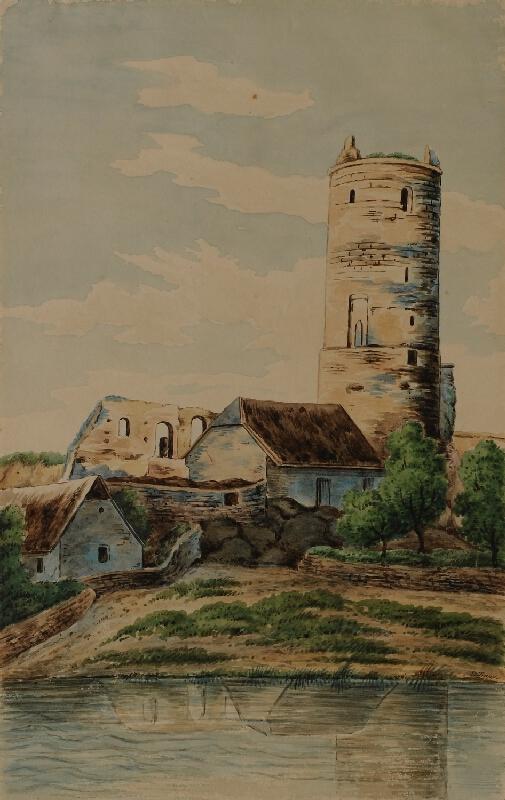Mořic (Mauritz) Vilém Trapp - Hrad Jenštejn u Brandýsa